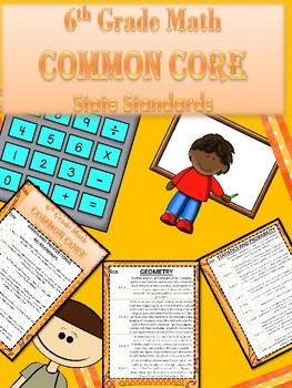 Common Core Math Standards 6th Grade