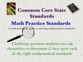 Common Core Math Standards! Clarifying Question Guide for Students!