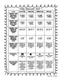 Common Core: Math Standards: First Nine Weeks of Math Homework