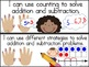 "Common Core Math Standards: ""I Can"" Statements for First Grade"