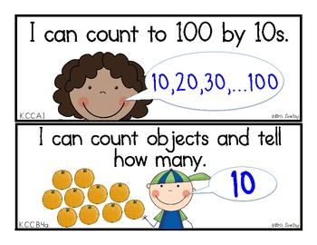 Massif image within kindergarten common core standards printable