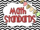 Common Core Math Standards Posters- {2nd grade}