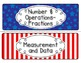 Common Core Math Standards Posters - Grade 5 (Red, White, Blue Patriotic Theme)