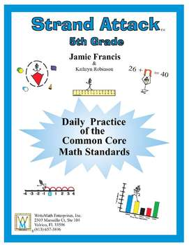 5th Grade Common Core Math - Daily Math Practice - FULL YEAR