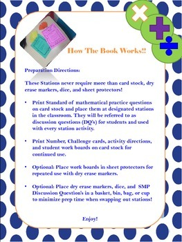 Common Core Math Stations