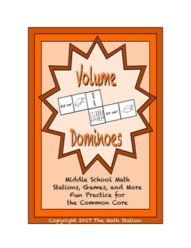 "Common Core Math Stations and Games - ""Dominoes"" Volume"