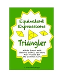 Common Core Math Stations and Games - Equivalent Expressio