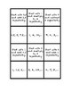 """Common Core Math Stations and Games - """"Go Fish"""" Patterns"""