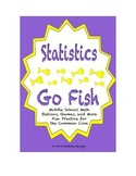 "Common Core Math Stations and Games - ""Go Fish"" Statistics"