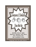"""Common Core Math Stations and Games - """"I Have Who Has"""" Congruence and Similarity"""