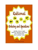 Common Core Math Stations and Games - Ordering and Operations Rationals