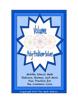 "Common Core Math Stations and Games - ""Poly-Problem-Solver"" Volume"