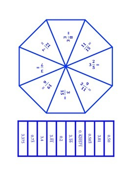 """Common Core Math Stations and Games - """"Poly-Problem-Solvers"""" Dividing Rationals"""