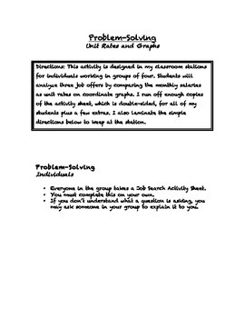Common Core Math Stations and Games - Problem-Solving & Proportional Reasoning