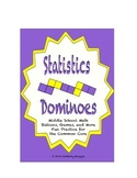 Common Core Math Stations and Games - Statistics Dominoes