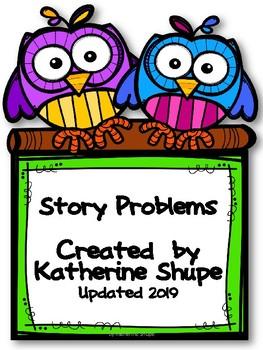 First Grade Math Story Problems