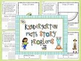 Common Core Math Story Problems Set 2  K/1  45 pages