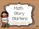 Common Core Math Story Starters #1