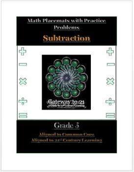 Common Core Math Subtraction Grade 5