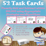 Common Core Math Task Cards - 4.NBT.4: Fluently Add and Subtract Whole Numbers