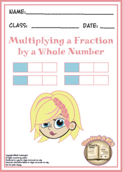 Common Core Math Task Cards - 4.NF.4.a,b: Multiplying Fractions by a Whole