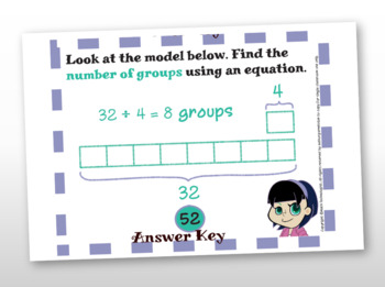 Common Core Math Task Cards - 4.OA.1 & 4.OA.2: Multiplicative Comparison