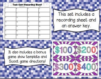 Common Core Math Task Cards (5th Grade): Dividing Unit Fractions 5.NF.B.7