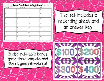 Common Core Math Task Cards (5th Grade): Exploring Volume 5.MD.C.3