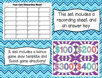 Common Core Math Task Cards (5th Grade): Multi-Digit Multiplication 5.NBT.B.5