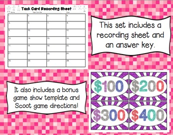 Common Core Math Task Cards (5th Grade): Multiplying Fractions 5.NF.B.4