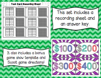 Common Core Math Task Cards (5th Grade): Patterns and Rules CCSS 5.OA.B.3