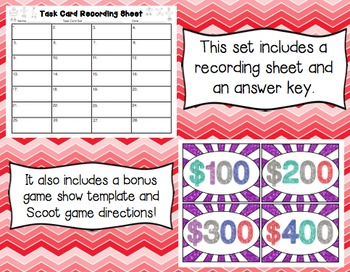 Common Core Math Task Cards 5th Grade- Place Value & Multiples of Ten: 5.NBT.A.1