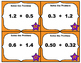Common Core Math Task Cards - Adding Decimals Tenths and H