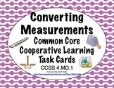 Common Core Math Task Cards - Converting Measurements CCSS 4.MD.1