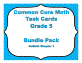 Common Core Math Task Cards - Go Math Chapter 1