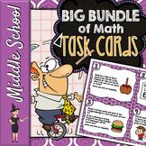 Common Core Math Task Cards Growing Bundle!