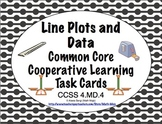 Common Core Math Task Cards - Line Plots and Data CCSS 4.MD.4