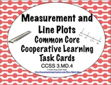 Common Core Math Task Cards - Measurement and Line Plots CCSS 3.MD.4
