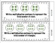 Common Core Math Task Cards Multiplication (Equal Groups) CCSS 3.OA.1