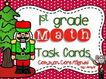 Nutcracker/Christmas Themed Math Task Cards