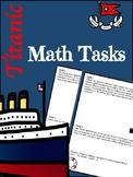 Math Task Center: The Titanic