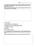 Common Core Math Task Customary Units