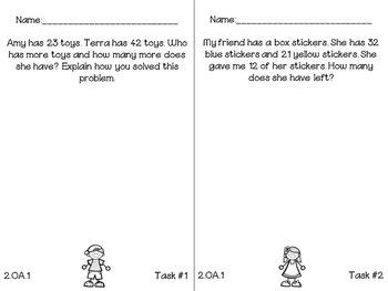 Everyday Math Tasks {2nd Grade}