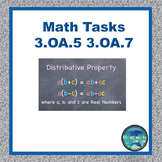 Math Tasks 3.OA.5 and 3.OA.7