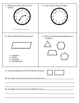 Common Core Math: Third Grade Part 1