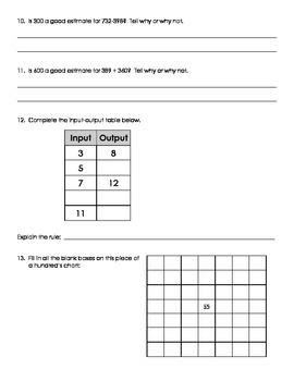 Common Core Math: Third Grade Part 4