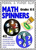 Common Core Math Tools K-3 - SPINNERS!
