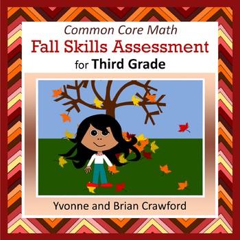 Fall No Prep Math Assessment - Third Grade Common Core