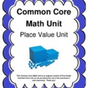 Common Core Math Unit Bundle