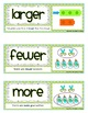 Common Core Math Vocabulary Cards {122 Word Wall Cards} {Kindergarten} {CCSS}